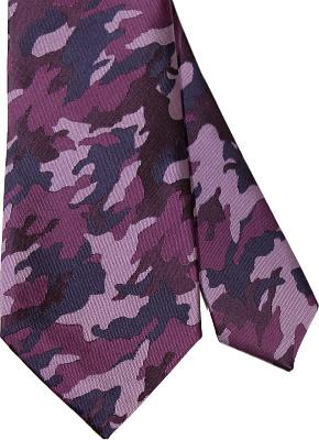 ネクタイ 迷彩 カモフラ―ジュ